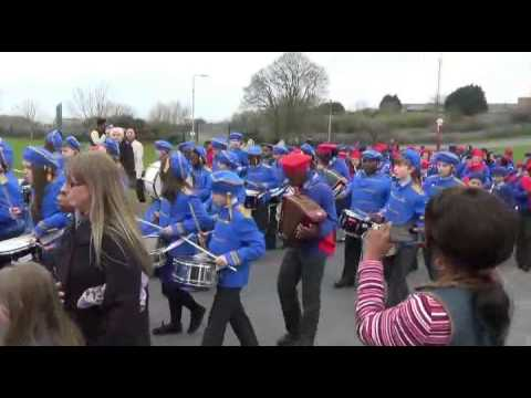 Renmore -  St Patrick's Day Parade 2015