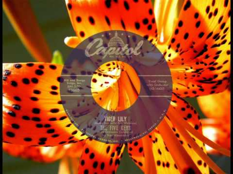 FIVE KEYS - Tiger Lily (1957) HQ Audio! Top 10 in Virginia