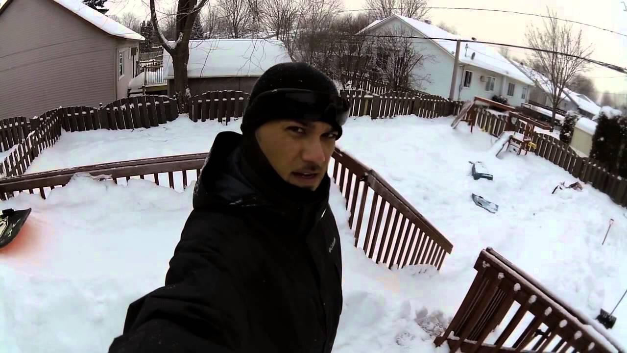 the backyard slide winter 2013 2014 edition youtube