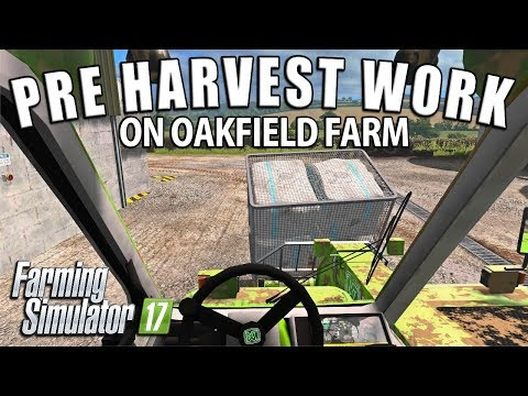 PRE HARVEST WORK | Farming Simulator 17 | Oakfield Farm - Episode 45