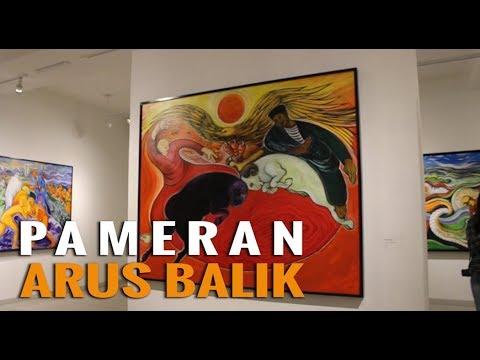 Goretan Lukisan di Pameran Ini Menyiratkan Isu Sosial Indonesia!