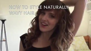 My Natural Wavy Hair Routine