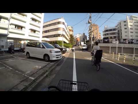 Cycling in Tokyo: Yoyogi Shibuya _ Minato-ku