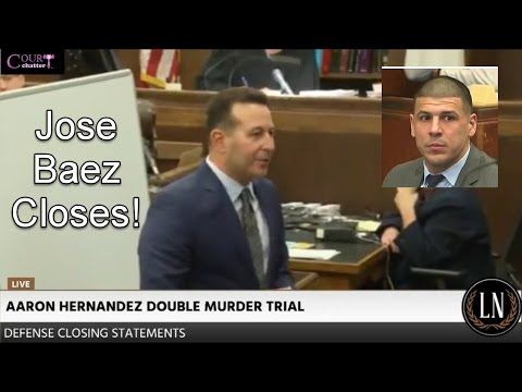 Aaron Hernandez Trial Defense Closing Arguments 04/06/17