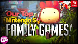 Top Nintendo Switch Family Games