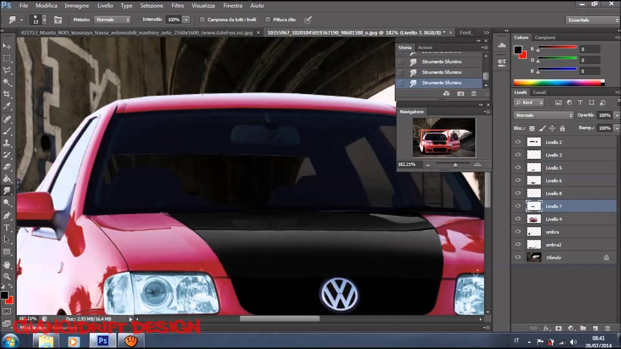 volkswagen polo 6n2 gti virtual tuning photoshop youtube. Black Bedroom Furniture Sets. Home Design Ideas