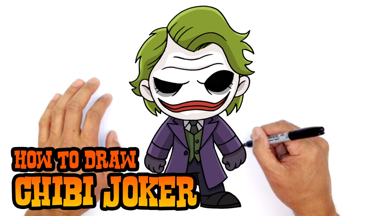 Joker Drawing Easy