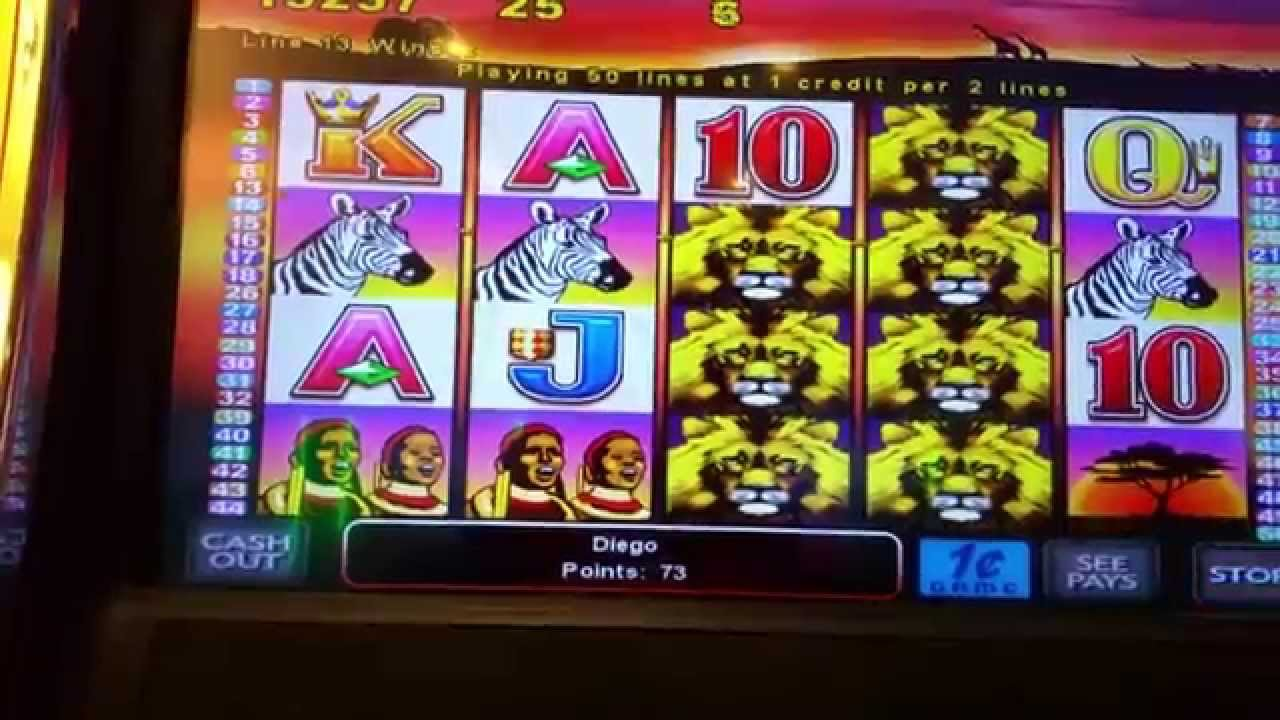 50 lions slot machine at resorts world casino youtube. Black Bedroom Furniture Sets. Home Design Ideas
