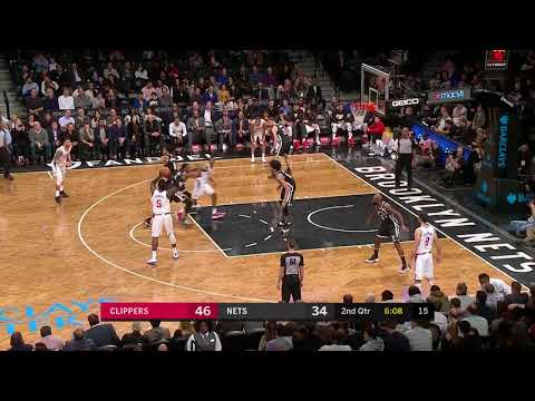 Montrezl Harrell (15 points) Highlights vs Brooklyn Nets 2-12-18