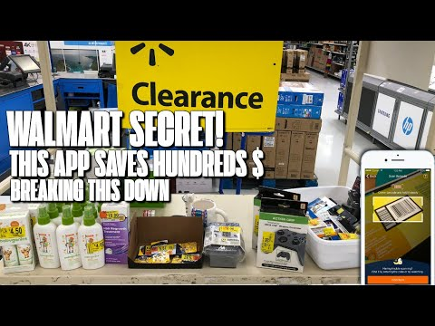 How To Find Walmart HIDDEN Clearance USING The App