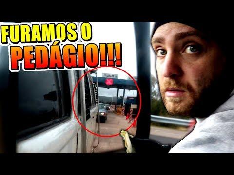 FAZENDO CAGADA NO URUGUAI! FURAMOS O PEDÁGIO...