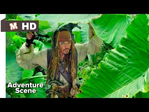 Pirates Of The Caribbean 4 Hindi On Strager Tides Talking Scene