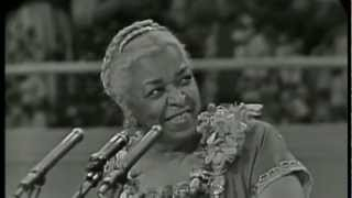 His Eye Is On The Sparrow - Ethel Waters [Psalms 23]