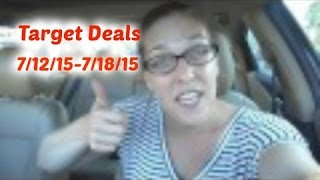 Deal shopping with Gina | Target Deals 7/12/15-7/18/2015