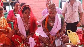 Ashok Basnet Weds Sapana Dhakal.