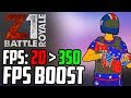 Z1 Battle Royale FPS BOOST How To Increase FPS (Best Settings) H1Z1 Tutorial