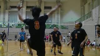 ソフトバレー 20170917幸手大会 vs桜舞会B 2セット thumbnail