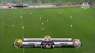 آنجي يكرم ضيفه أمكار بثلاثية في الدوري الروسي