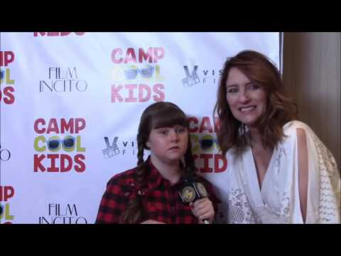 Reporter: Morgan B Bertsch interviews with Lisa Arnold the producer and writer of Camp Cool Kids