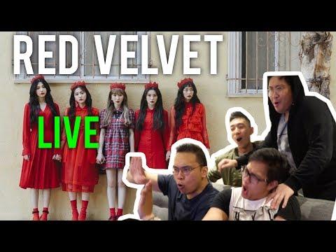RED VELVET LIVE (LOOK + PEEK-A-BOO Reactions)
