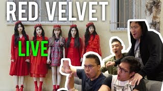RED VELVET LIVE (LOOK + PEEK-A-BOO Reactions)