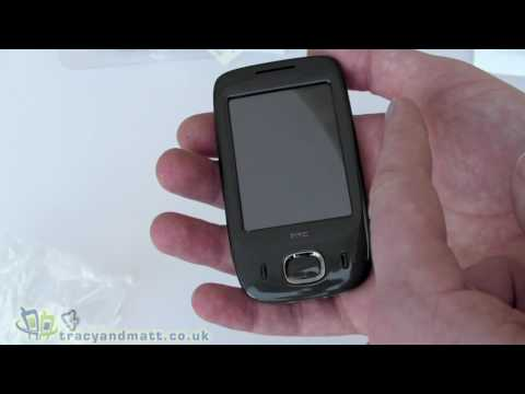 HTC Touch Viva unboxing