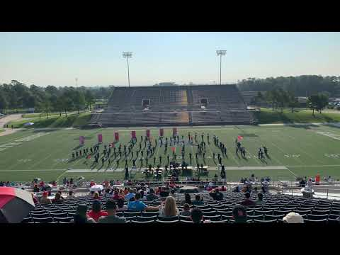 New Caney High School Band | 10/5/19 | Galena Park marching competition