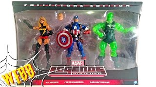 MARVEL LEGENDS Target 3-Pack Action Figure Review