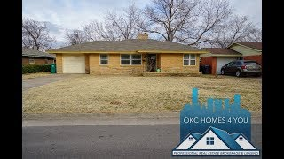 House for rent in OKC. 3BD/1BA. 1504 N Nicklas Ave,  OKC, OK. By OKC Homes 4 You.