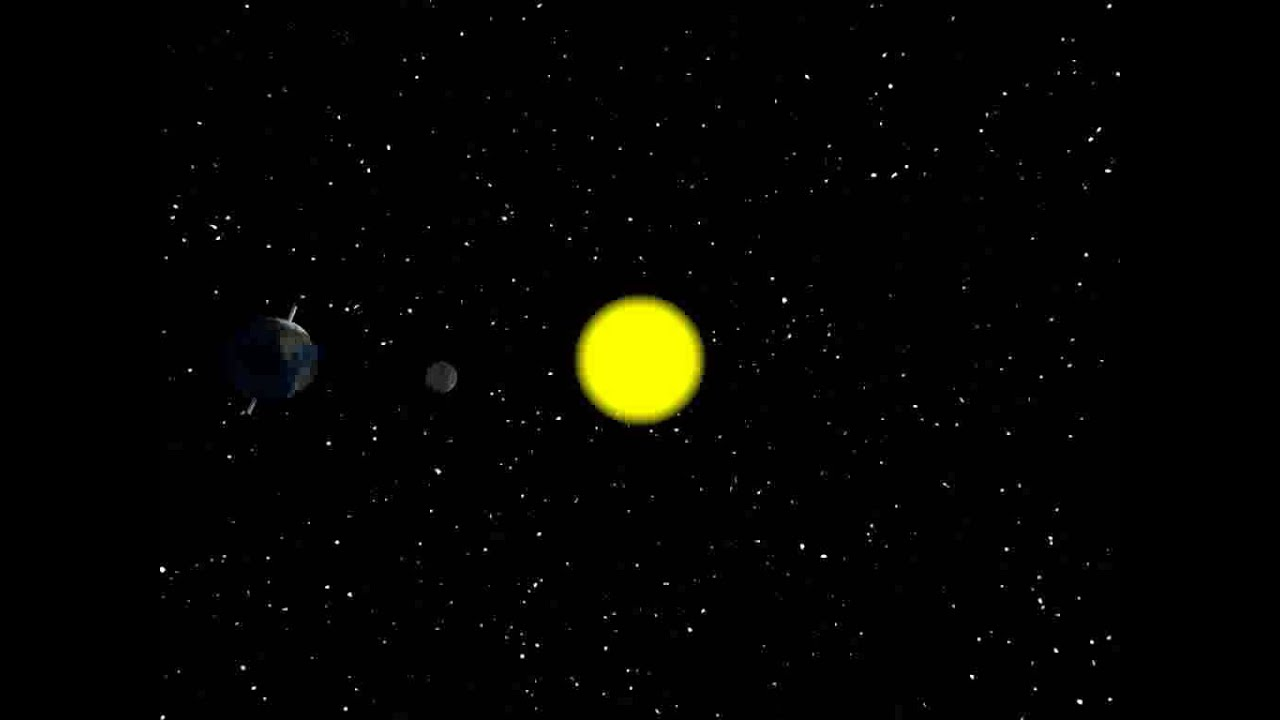 d98f78e74 Sun, earth, moon animation - YouTube