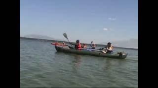 Сплав по озёрам(Замечательная погода выдалась у нас на сплаве по озёрам с 8.07 по 10.07, солнечная, жаркая. И многие впервые почу..., 2016-07-18T08:11:10.000Z)