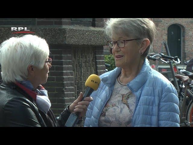Roos in de stad met haar kaartjes - Spiegel van Woerden - RPL TV Woerden - 4 juni 2018