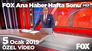 Elektrik bedeline indirim dağıtım bedeline zam...  5 Ocak 2019 FOX Ana Haber Hafta Sonu
