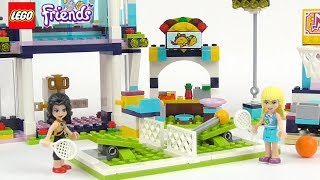 LEGO Friends Stephanie's Sports Arena - Playset 41338 Toy Unboxing & Speed Build