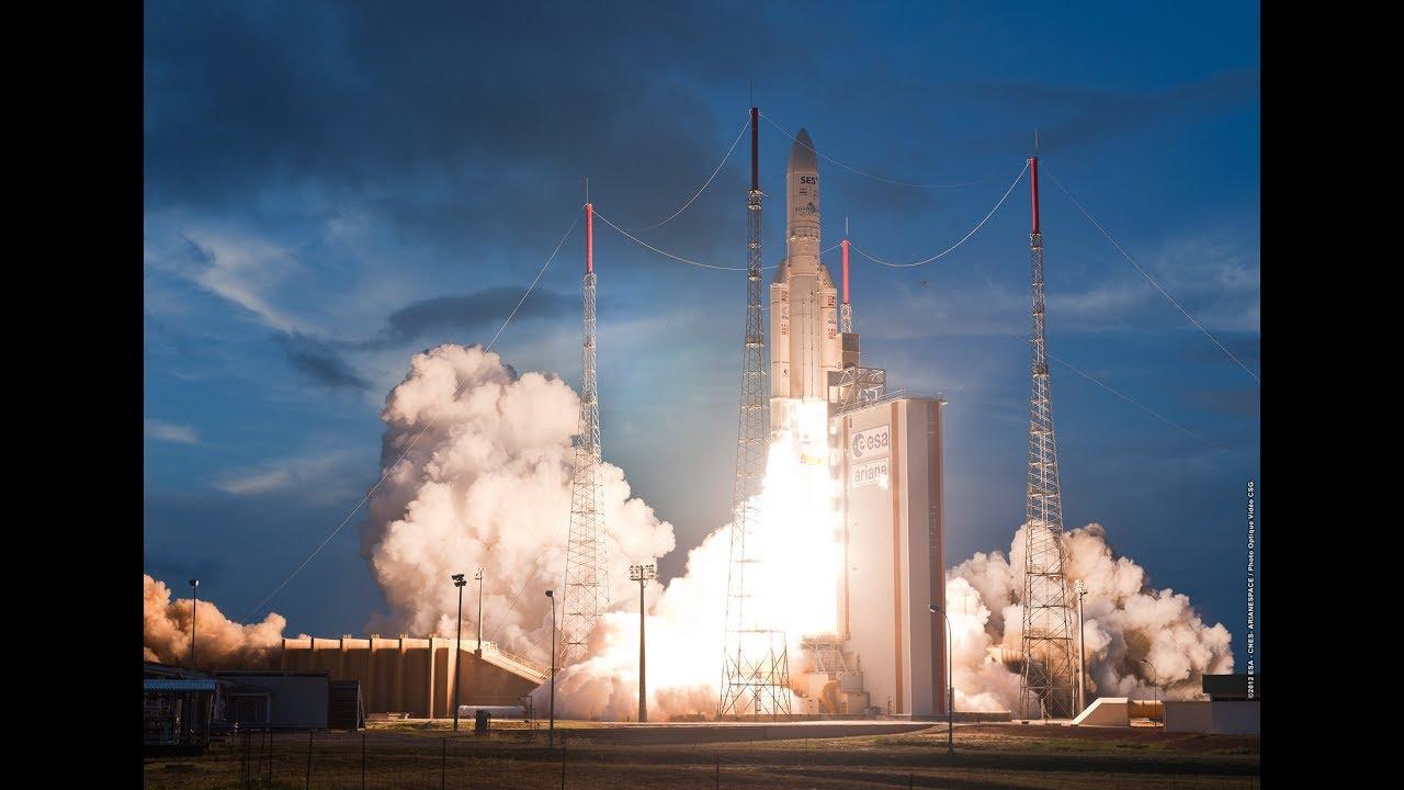 Ariane 5 Flight VA238 Hellas Sat 3-Inmarsat S EAN and GSAT-17 Launch, 28 June 2017 - YouTube