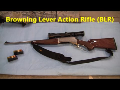 Browning Lever Action Rifle BLR - White Gold Medallion