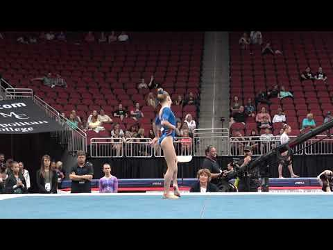 Nola Matthews – Floor Exercise – 2019 GK U.S. Classic – Junior Competition