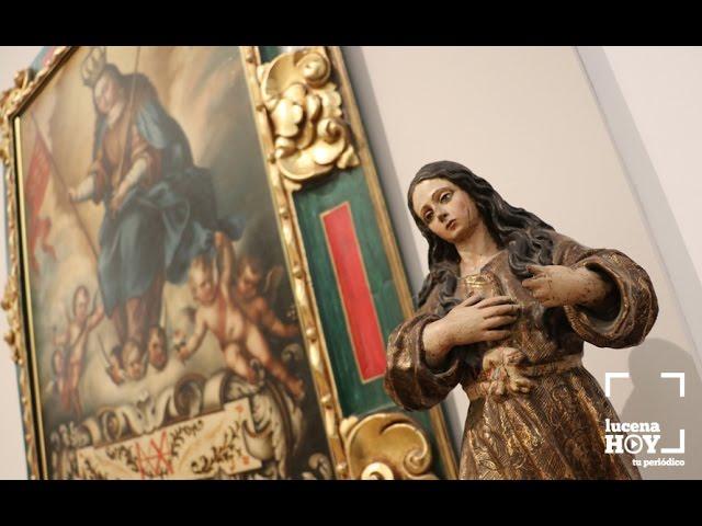 """VÍDEO: Un paseo en vídeo por la exposición """"El Rosario. El tesoro de la Aurora"""""""