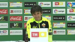 Rueda de prensa de Pacheta tras el Elche CF vs Cádiz CF (1-0)