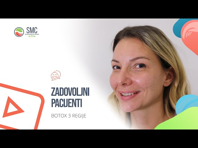 Zadovoljna pacijentkinja - Bojana - Botox 3 regije
