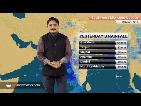 [Hindi] 15 जून - मॉनसून पूर्वानुमान: मॉनसून नागपुर के करीब; असम, मिज़ोरम में बाढ़ का कहर
