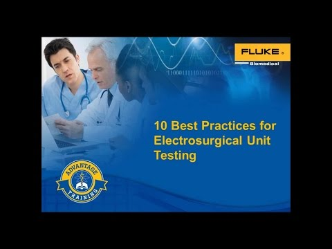 10 Best Practices For Electrosurgical Testing | TechNation Webinar Wednesday Series