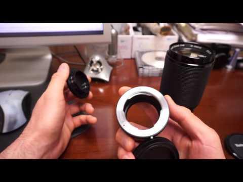 Vivitar Series 1 70-210mm F/2.8-4 Lens - STICKY Aperture
