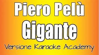 Piero Pelu' - Gigante (Versione Karaoke Academy) Sanremo 2020