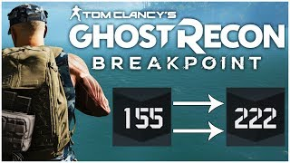 Fastest Ways to Increase Your GEAR SCORE! - Ghost Recon Breakpoint Tips