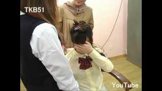 Repeat youtube video TKB51 断髪ビデオ #621 刈り上げ女子高生(大泣き) ☆サンプル☆ Haircut