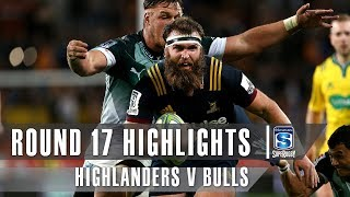 ROUND 17 HIGHLIGHTS: Highlanders v Bulls – 2019
