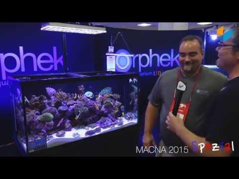 (English) Orphek Atlantik V3. WiFi | MACNA 2015 | Meerwasser Live TV