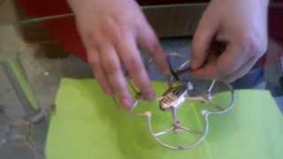 how to repair hubsan x4 quadcopter remove propeller and open part2