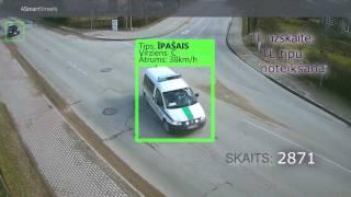 Transportlīdzekļu plūsmas uzskaite un kategorizēšana